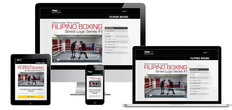 Filipino Boxing Onlinekurs von Grandmaster Rene Latosa